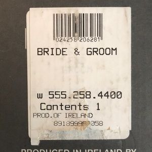 Waterford Crystal Accents - Waterford Crystal Figure-Bride/Groom, Vintage